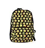 Desire Deluxe Stylish School Backpack Rucksack Emojis Shoulder Book Bag for Boys Girls 34 x 14 x 44cm