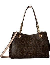 Calvin Klein - Bolsa Marie Monogram tipo satchel original Mujer