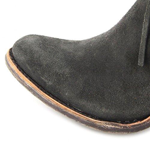 FB Fashion Boots Corral Boots Stiefel C3099 Black Grey/Damen Stiefelette Braun/Damenschuhe/Damen Boots Black Grey