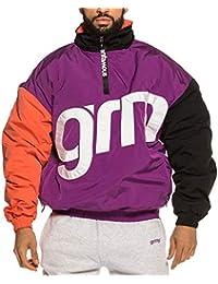Grimey Flamboyant Pullover Chaqueta Hombre Morado
