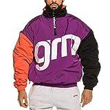 Grimey Jacke Flamboyant Pullover Morado XL (X-Large)