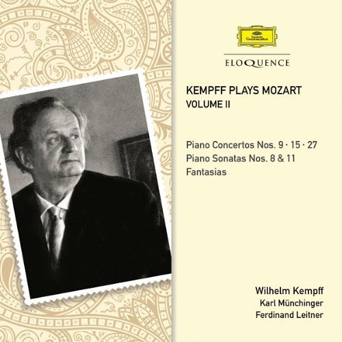 KEMPFF PLAYS MOZART - VOLUME 2 by Wilhelm Kempff; Bernhard Klee (2013) Audio CD