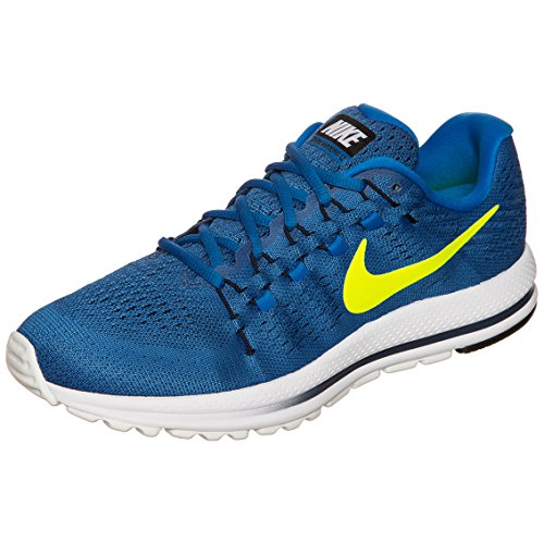 Nike Air Zoom Vomero 12, Scarpe da Corsa Uomo Blu (Star Blue/Volt/Italy Blue/Obsidian/White)