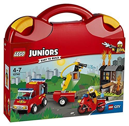 Lego 10740 - Juniors Löschtrupp-Koffer (Junior Geschenk)