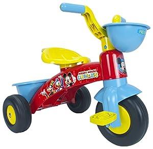 GIPLAM - Triciclo de Mickey Mouse (60 x 40 x 43 cm, Talla única)