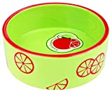 Trixie 25103 Fresh Fruits Keramiknapf, hellgrün