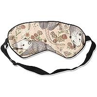 Comfortable Sleep Eyes Masks Befuddled Possums Pattern Sleeping Mask For Travelling, Night Noon Nap, Mediation... preisvergleich bei billige-tabletten.eu