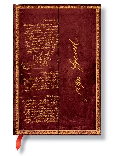 Faszinierende Handschriften Freud Architektur der Hysterie - Faux Leder - Notizbuch Mini Liniert - Paperblanks -