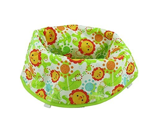 Fisher Price Jumperoo Replacement Seat Pad (CHN44 RAINFOREST FRIENDS) by Fisher-Price