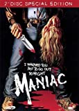 MANIAC..Uncut 2 disc Special Edition..