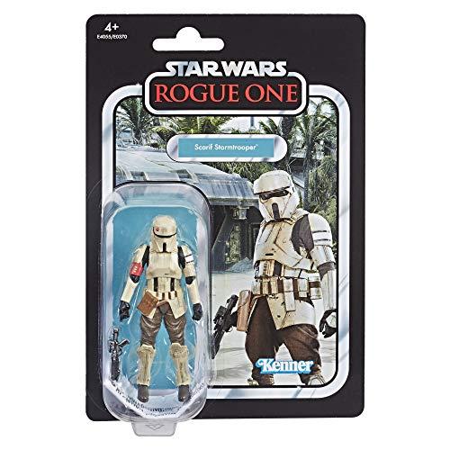 Star Wars E4055ES0 Rogue One Scarif Stormtrooper, Actionfigur mit vielen Details und Artikulationspunkten aus der Vintage Collection, Mehrfarbig