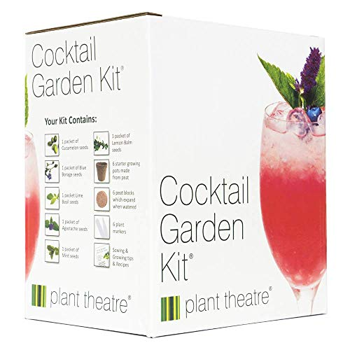 plant theatre cocktail garden kit, varietà da coltivare