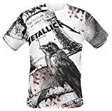 Metallica Bell Tolls T-Shirt weiß XL
