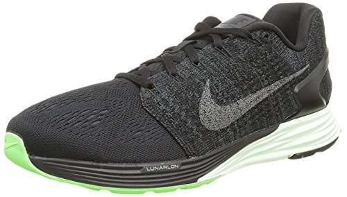 Nike Herren Lunarglide 7 Lb Laufschuhe Schwarz