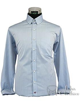 WhitePilotShirts - Camisa formal - para hombre