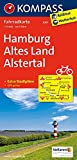 Hamburg, Altes Land, Alstertal: Fahrradkarte. GPS-genau. 1:70000 (KOMPASS-Fahrradkarten Deutschland, Band 3007)