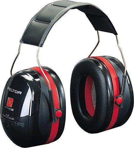 Peltor OPTIME III Kapselgehörschutz - EN 352-1 - Dämmwert 35 dB - für extreme Lärmbelästigung
