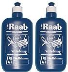 Hans Raab concentrato detergente in bottiglia blu è il prodotto forse più famoso ha RA. Da oltre 40anni è questo concentrato il treno vittoria per il mondo ed è ancora oggi l' essenza della meccanica più rispettosa dell' ambiente fisico per la puliz...