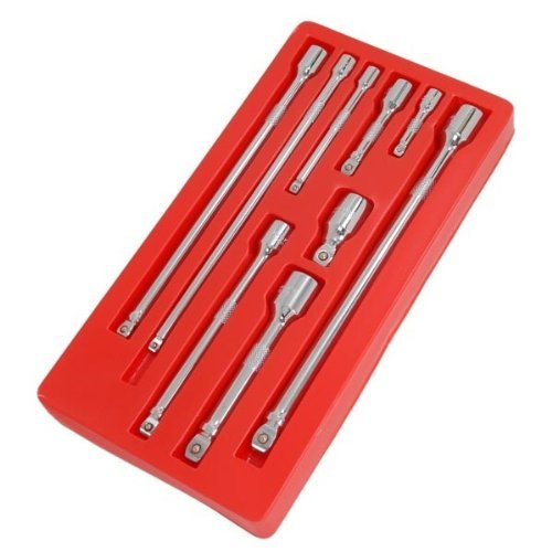 Wobble Bar Extension Set 9pc 1/4-3/8-1/2in. Dr. (Rot Tray)