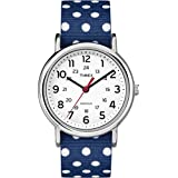 Timex Originals TW2P66000 Ladies Weekender Reversible Dots Blue Watch