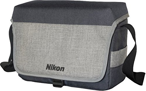 Nikon VAE29001 CF-EU11 SLR Systemtasche schwarz/hellgrau (Nikon D610 Kamera)