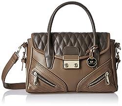 Diana Korr Womens Handbag (Beige) (DK19HNUD)