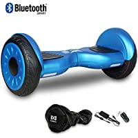 "Cool&Fun Hoverboard Patinete Eléctrico Scooter Monopatín Eléctrico Auto-equilibrio Patín de 10"" From SHOP GYROGEEK 350X2W JUNMA (Blue)"