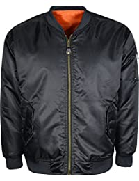 MA1 Bomber Jacket For Mens Pilot Security Doorman Reversible Jacket