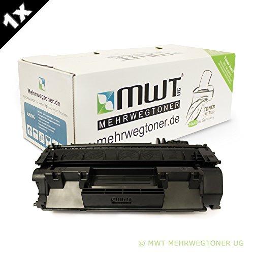 MWT Toner kompatibel non OEM zu HP LaserJet P 2030 2033 2035 2036 2037 + P 2050 2053 2054 2055 2056 2057 (D / DN / X) - CE-505A / 05A kompatibel