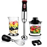 Best Immersion Blenders - Immersion Blender Aicok 4-In-1 Hand Blender with Smart Review