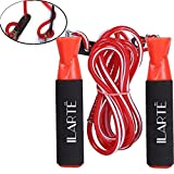 Best Kids Jump Ropes - ILARTE Adjustable Skipping Rope (Red) Review