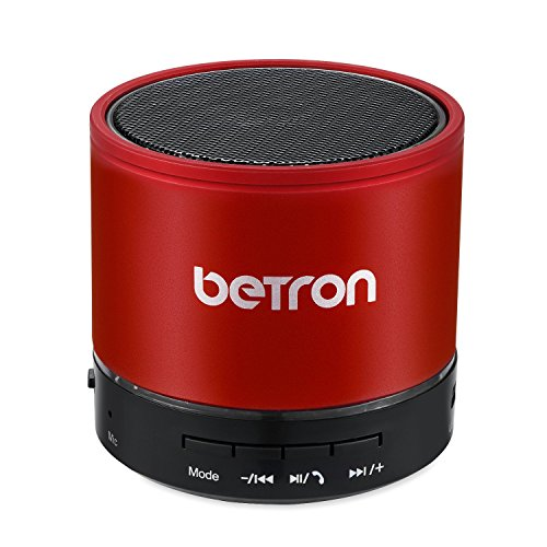 Betron-KBS08-Wireless-Portable-Travel-Bluetooth-Speaker-Red