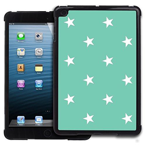Graphic4You Sterne Muster Design Harte Hülle Case Tasche Schutzhülle für Apple iPad Mini 1 / 2 / 3 (Tiffany Blau) (Mini Ipad Tiffany 3 Case)