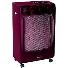Campingaz Cr5000 Thermo Burdeos Estufa de Gas termostatica, Acero, 45x35x78 cm