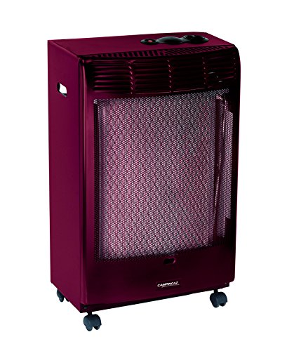 Campingaz CR5000 Thermo Bordeaux Thermostatisches Gasheizofen, 45 x 35 x 78 cm, Bordeaux