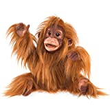 Folkmanis Handpuppe Puppet Baby Orang-Utan 3106