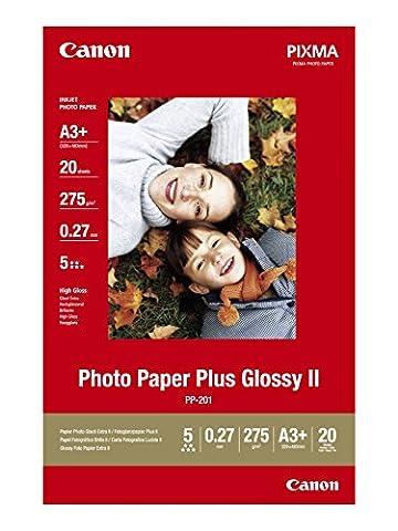 Canon Photo Paper Plus Glossy II PP201 papier photo A3+ 20 feuilles