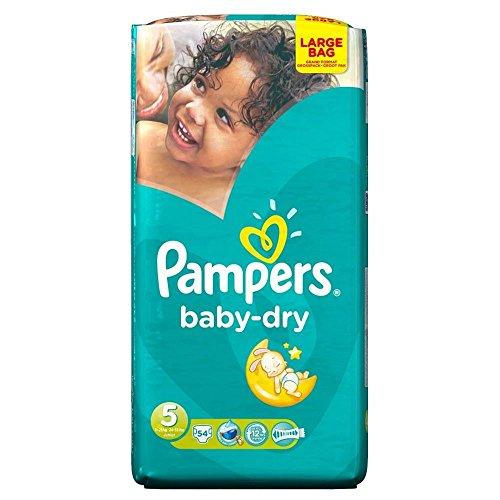 Preisvergleich Produktbild Pampers Baby Dry Größe 5 Junior 11-25kg (54) - Packung mit 2