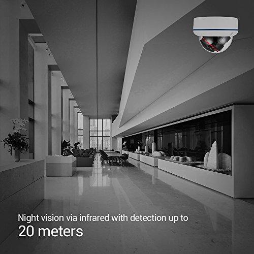 【720P】Ctronics Überwachungskameras Dome Kamera IP WIFI Wireless Kamera 720p - 4