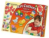 Feuchtmann Spielwaren 6285390 - Art Cutters Farm Set, 480 g Modelliermasse und 6 Formen, 22-teilig