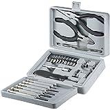 Fixpoint WZ TOOLBOX Boîte à outils refermable Argent 25 pièces