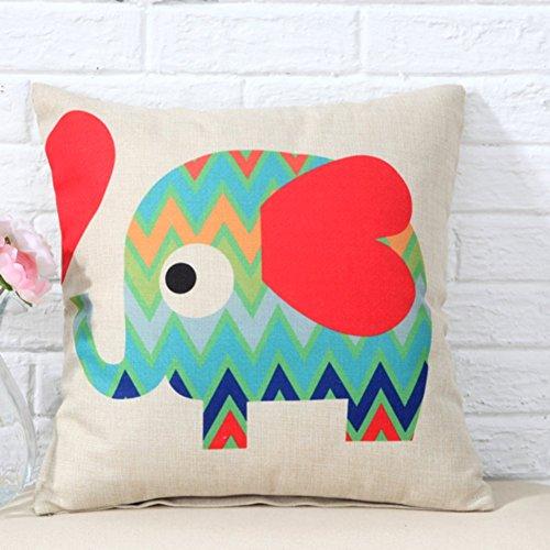 Cartoon cuscino modello elefante/ufficio cuscino sveglia/cuscino del