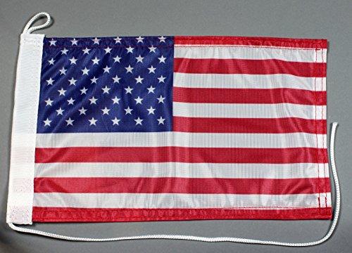 Buddel-Bini Bootsflagge USA Amerika 20 x 30 cm in Profiqualität Flagge Motorradflagge