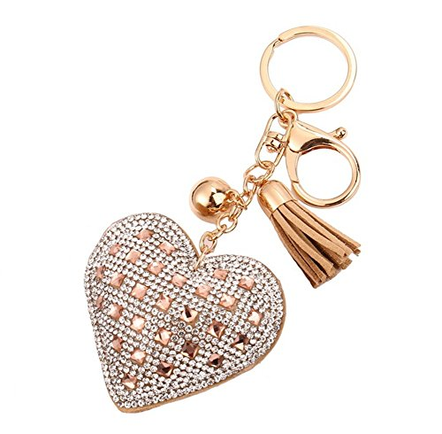 dawa-heart-shaped-fashion-leather-tassels-diamond-keyring-car-key-pendant1pcs
