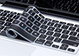 #2: Plastron Silicone Keyboard Protector for MacBook Air (Black)