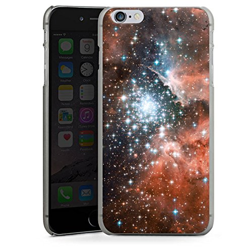Apple iPhone X Silikon Hülle Case Schutzhülle Galaxy Space Galaxie Hard Case anthrazit-klar