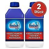 Finish Maschinenpfleger 5x Power Spülmaschinenreiniger, Sparpack, 2er Pack (2 x 250 ml)