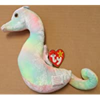 TY Beanie Babies Neon the Seahorse Plush Toy Stuffed Animal by Unknown