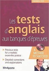 Les tests d'anglais aux banques d'épreuves (1CD audio)