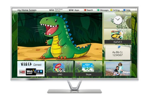 Panasonic TX-L42FT60B 42-inch Widescreen 1080p Full HD LED 3D Smart TV with Freeview HD
